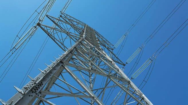 Torre de electricidad de la red de alta tensión española.