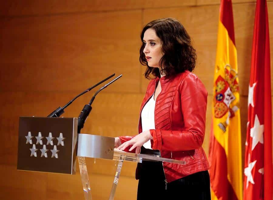 """Ayuso carga contra el """"Gobierno radical de izquierdas"""" que """"quiere lo peor para Madrid"""""""