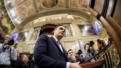 """Sánchez : """"Hay que retomar la senda de la política, dejando atrás la judicialización del conflicto"""""""