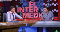 Pablo Iglesias entrevistado en 'El Intermedio', en La Sexta.