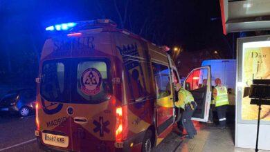 Muere la niña de 3 años atropellada por una moto en un paso de peatones en Madrid