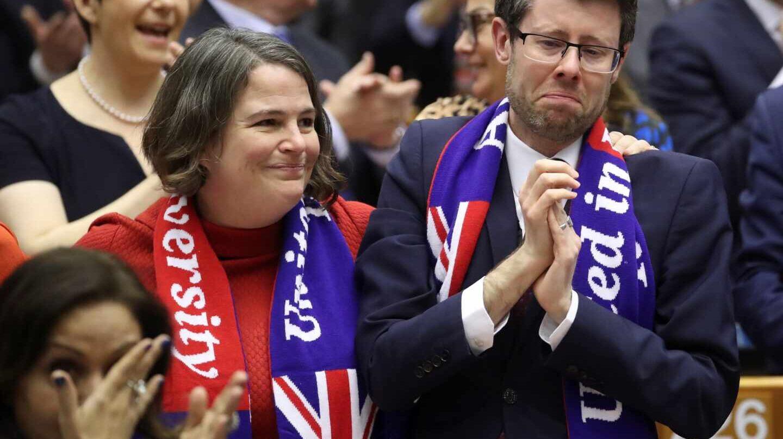 Eurodiputados Brexit