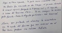 """Múgica a Sánchez: """"Será investido con la ayuda del fascismo que nos asesinó"""""""