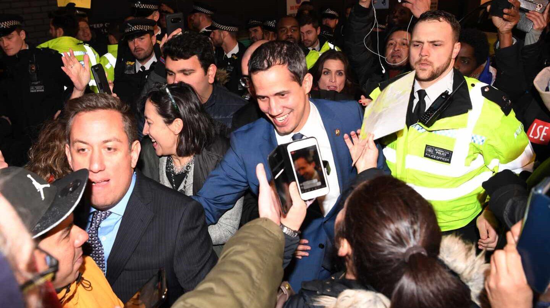 Juan Guaidó Londres