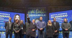 El centroizquierda frena a Salvini en Emilia-Romaña, según los primeros sondeos