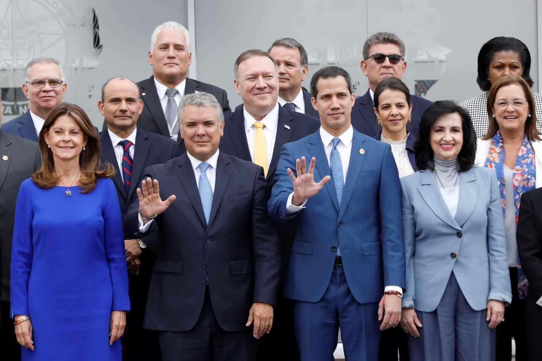 Guiadó Bogotá cumbre antiterrorista