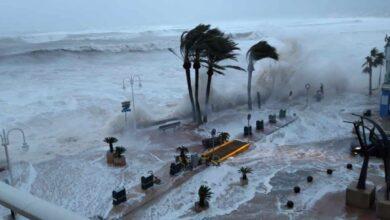 Muchas playas se perderán antes por temporales como Gloria que por la subida del nivel del mar