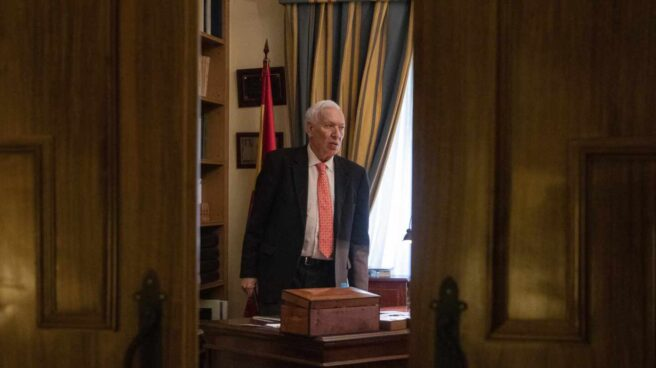 José Manuel García Margallo en su despacho