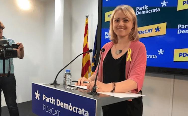 La sustituta de Torra como diputada en el Parlament renuncia al escaño para que quede vacío