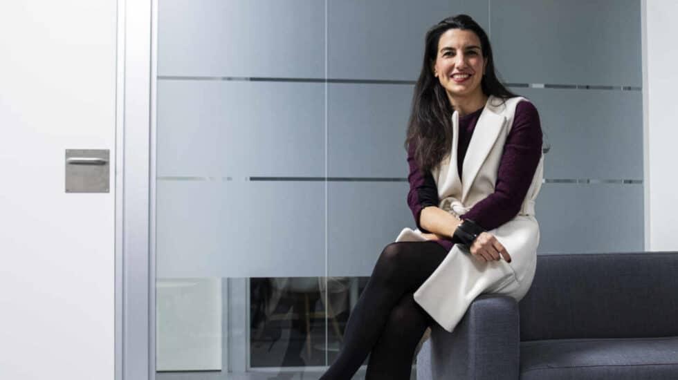 Rocío Monasterio, durante la entrevista con El Independiente en Madrid