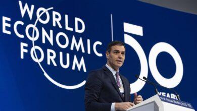 """Sánchez defiende un reparto """"más justo"""" de la riqueza ante el foro liberal de Davos"""