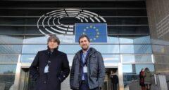 Puigdemont: gallina navideña en el Parlamento europeo