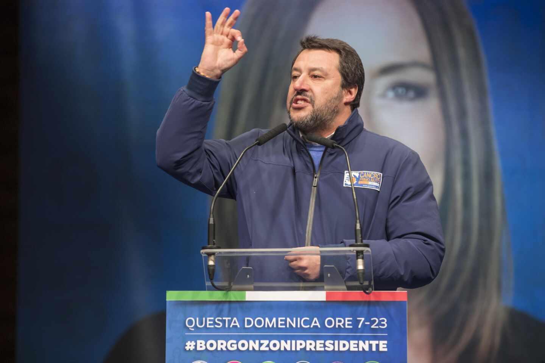 Salvini-Emilia-Romaña-Italia
