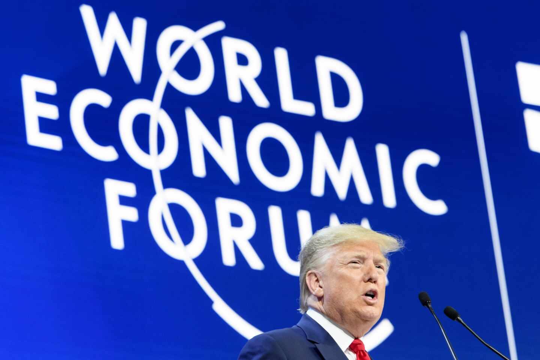 Trump en Davos