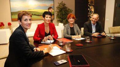 Chivite pacta con Bildu sus primeros presupuestos para Navarra