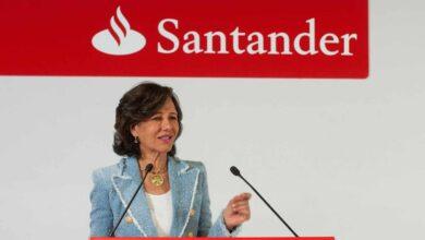 El beneficio de Santander cae un 17%, hasta 6.515 millones, golpeado por Reino Unido