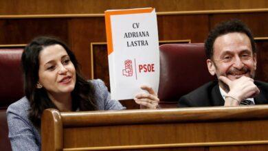 El PSOE veta a Cs en venganza por los ataques de Arrimadas a Lastra