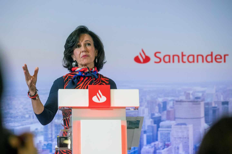 Botín renuncia a la mitad de su sueldo por el coronavirus y Santander revisará el dividendo de 2020