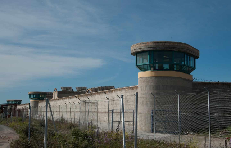 Cerramiento perimetral del centro penitenciario de Brieva (Ávila), donde cumple condena Iñaki Urdangarin.