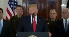Trump anuncia duras sanciones económicas contra Irán tras el ataque con misiles a bases de EEUU en Irak