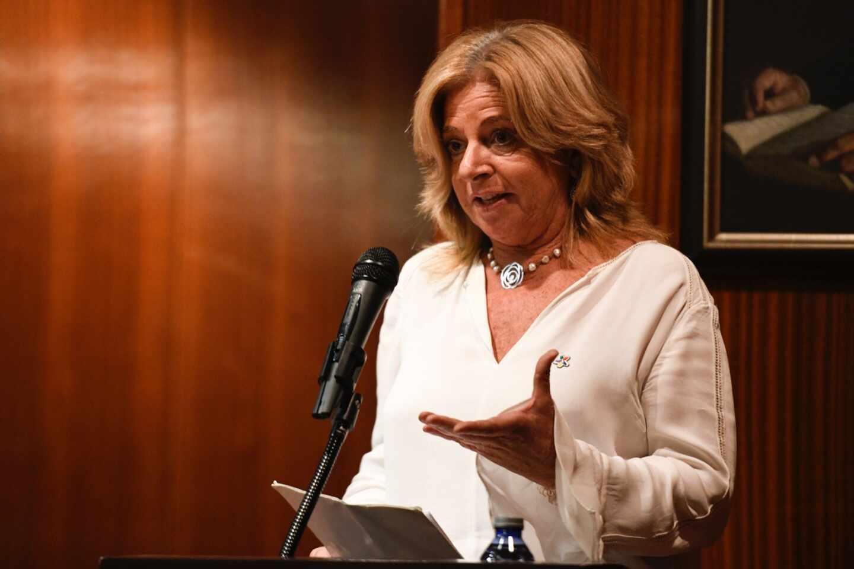 La presidenta del Colectivo de Víctimas del Terrorismo del País Vasco, COVITE, Consuelo Ordóñez.