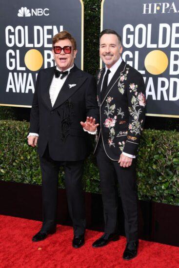 Elton John y David Furnish