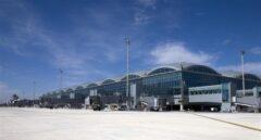 El Aeropuerto Alicante-Elche se cierra al tráfico aéreo por la borrasca 'Gloria'