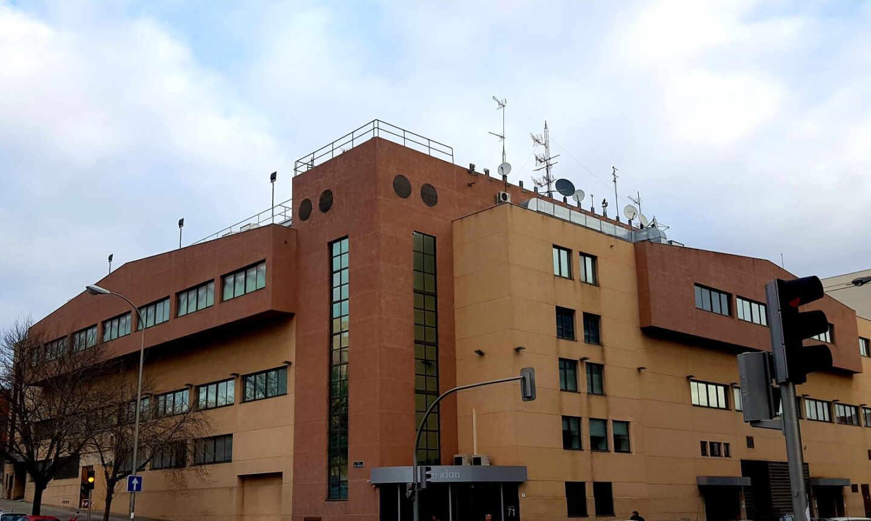 Sede del centro de datos de Interxion en Madrid.