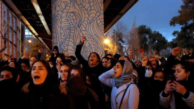 Protestas Irán mujeres
