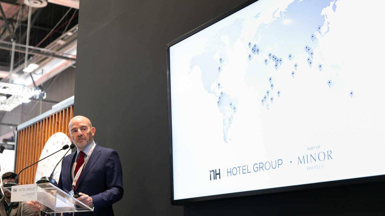El consejero delegado de NH Hotel Group, Ramón Aragonés.
