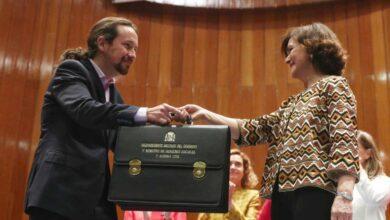 Iglesias da orden de callar las críticas para no poner en riesgo el pacto con Sánchez