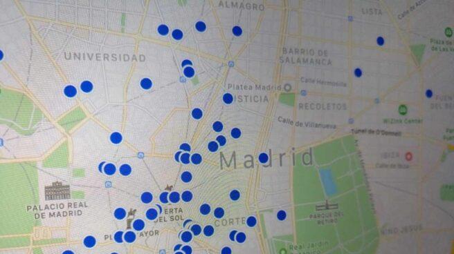 Pisos turísticos en Madrid en la plataforma HomeAway.
