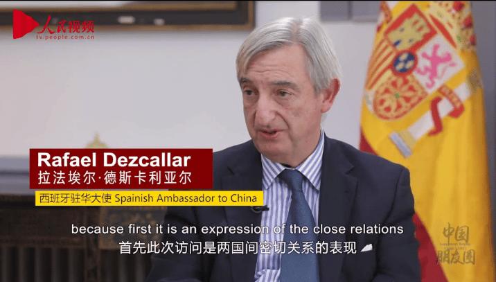 Crisis del coronavirus: El embajador español en China regresa ahora de vacaciones