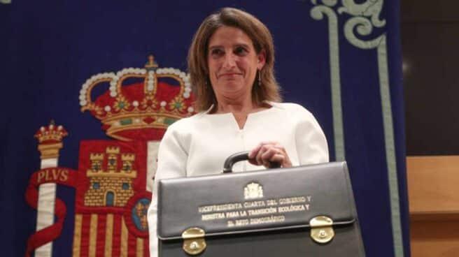 La vicepresidenta cuarta del Gobierno y ministra para la Transición Ecológica, Teresa Ribera.