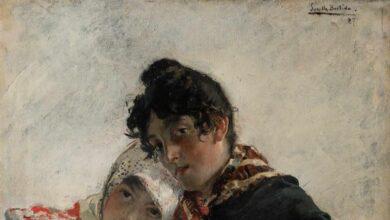 'Las chulas', cuadro de Sorolla, sale a subasta por 120.000 euros