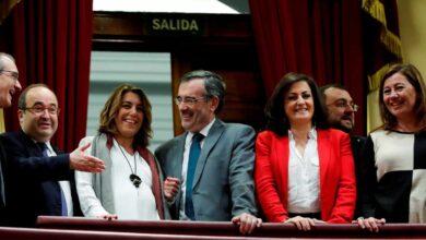 """El PSOE andaluz defiende ahora una consulta sólo en Cataluña: """"Está dentro de la ley"""""""