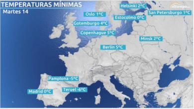 Por qué España registra temperatuas más bajas que Finlandia