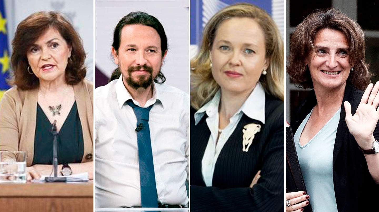 Sánchez diluye el poder de Iglesias al sumar una vicepresidencia — España