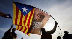 Puigdemont se apropia de la bandera del 1-O