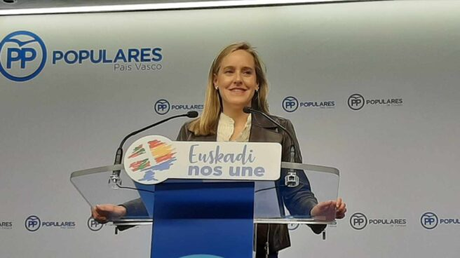 La secretaria general del PP en el País Vasco, Amaya Fernández.