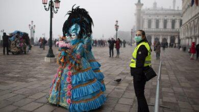 Galería: Venecia cancela su Carnaval por la crisis del coronavirus