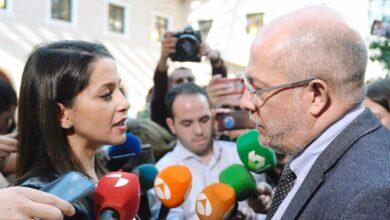 """Indignación en el entorno de Igea por la """"humillación"""" que Arrimadas """"forzó"""""""