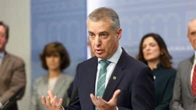 Urkullu comunica a Sánchez, Torra y Feijóo que adelanta las elecciones vascas al 5 de abril