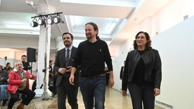 """PSOE y Podemos presumen de unidad ante los """"fascistas"""" tras una semana de tensiones internas"""