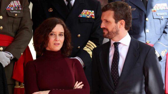 Díaz Ayuso y Casado