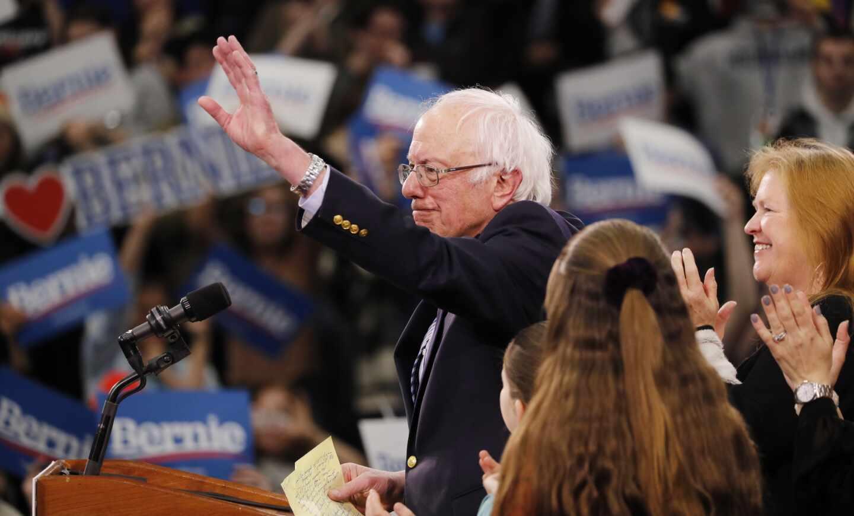 Bernie Sanders en New Hampshire