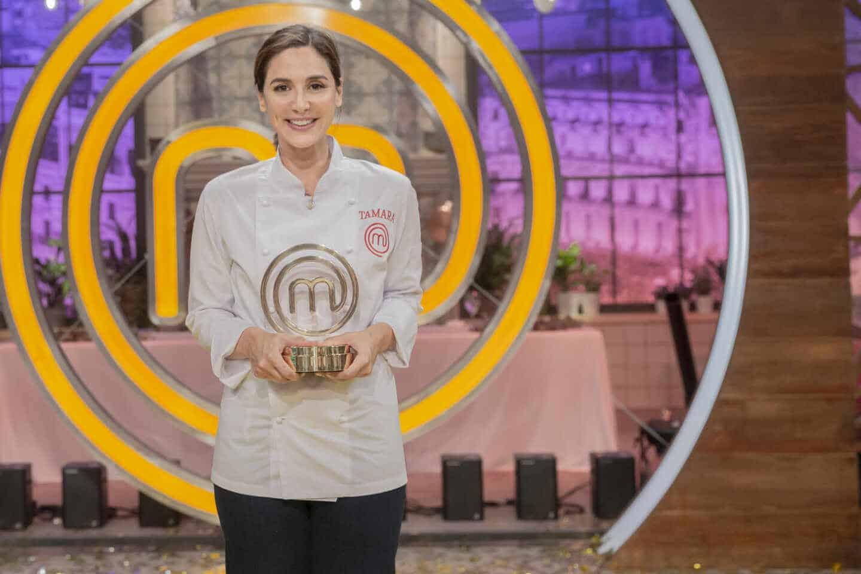 Tamara Falcó, ganadora de la cuarta edición de MasterChef Celebrity