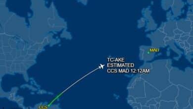 El Gobierno tuvo cuatro horas para ordenar el desvío al avión de Delcy y eludió hacerlo