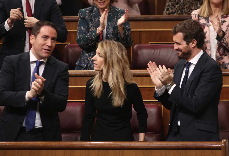 "Afines a Álvarez de Toledo señalan a Egea por ""intentar cargarse"" a la portavoz"
