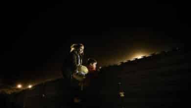 Un minion salta la frontera en Tijuana